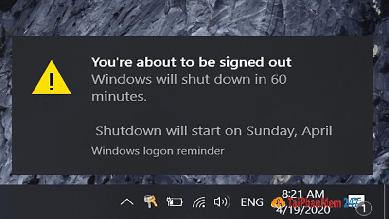 Hẹn giờ tắt máy tính bằng lệnh run 2