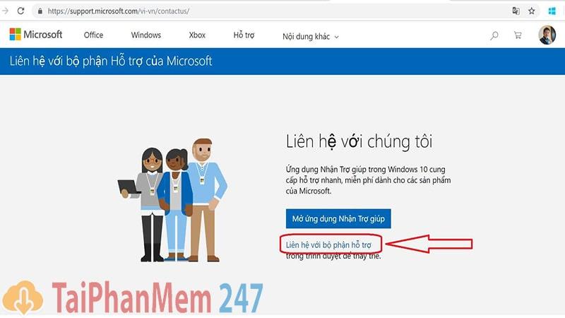 Tính năng trợ lý ảo của Microsoft để hỗ trợ khắc phục lỗi màn hình xanh