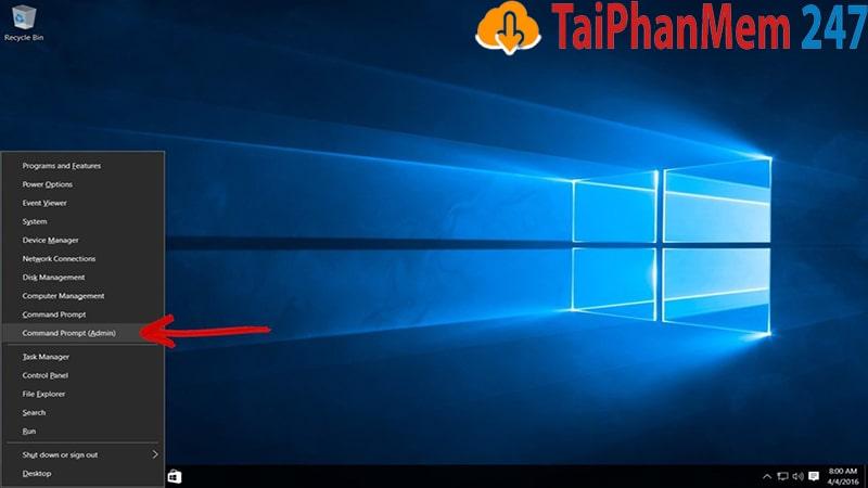 Fix lỗi màn hình xanh bằng cách sửa đĩa cứng