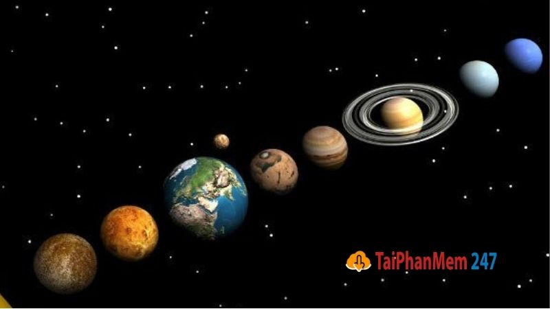 8 hành tinh trong Hệ Mặt trời
