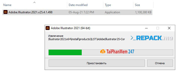 Bước 3 tải Adobe Illustrator CC 2021