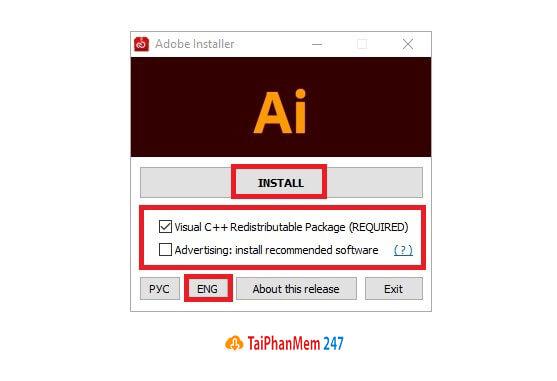 Bước 4 tải Adobe Illustrator CC 2021