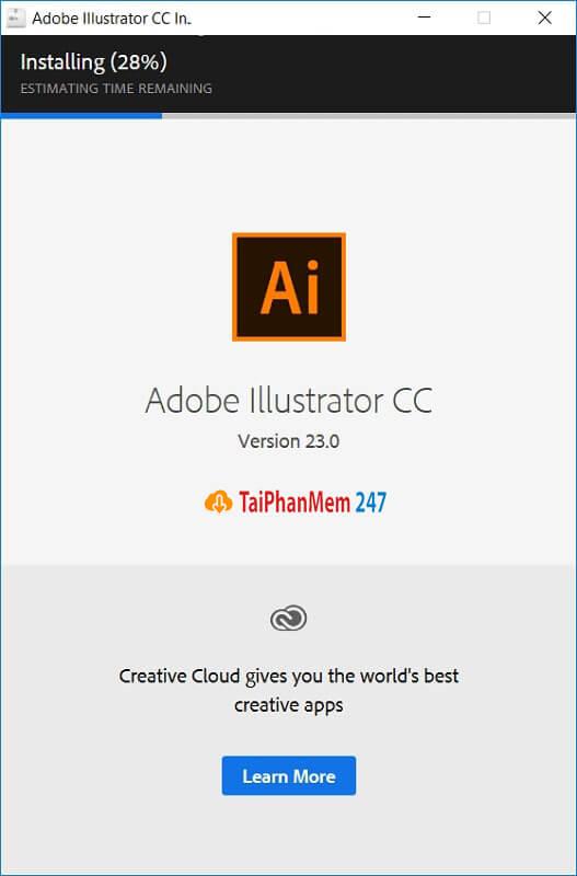 Bước 6 tải Adobe Illustrator CC 2018