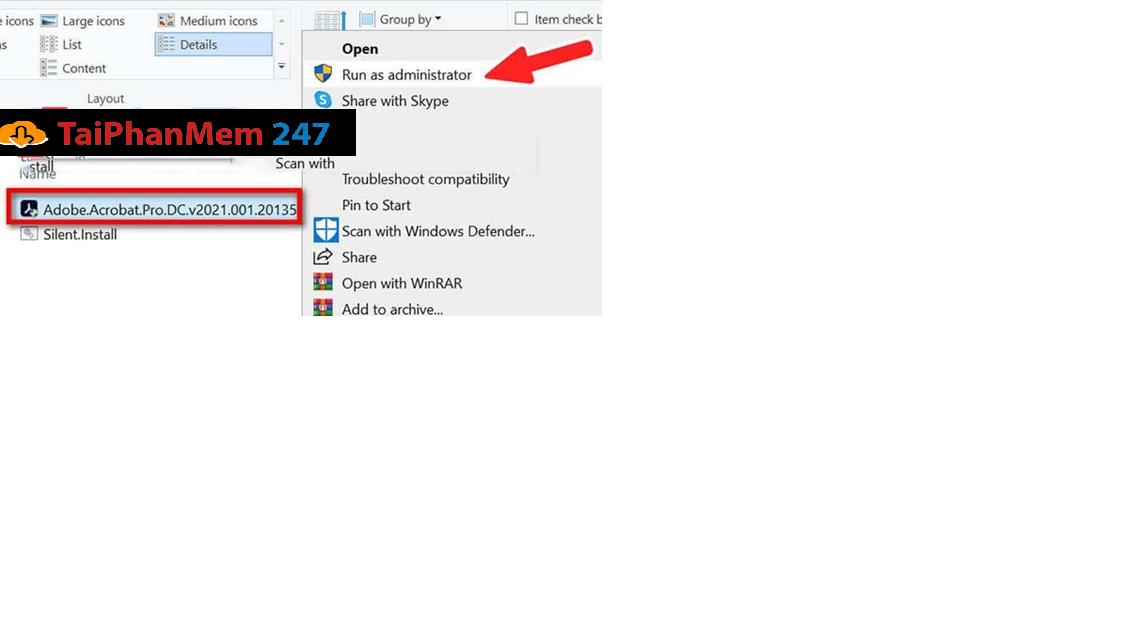 Adobe Reader Pro DC 2021