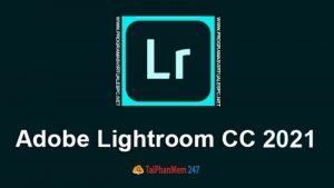Adobe Lightroom CC 2021